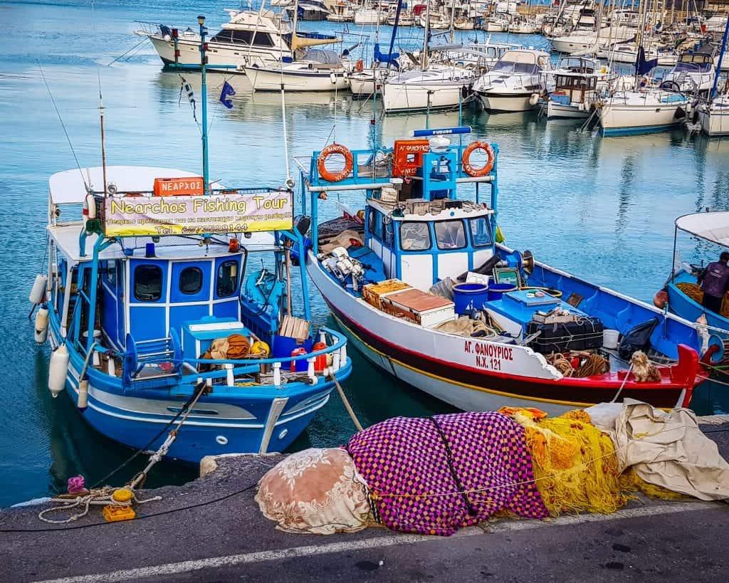 Greece - Crete - Heraklion - Boats
