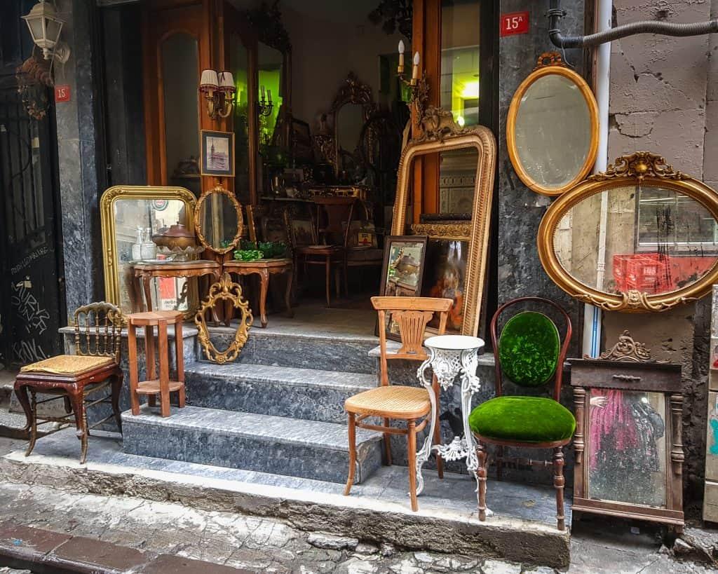 Turkey - Istanbul - Furniture Shop