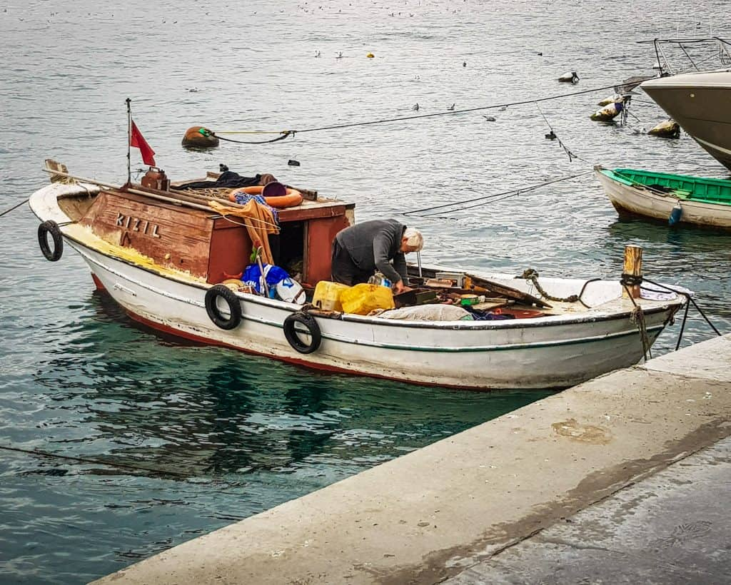 Turkey - Istanbul - Fisherman in Bebek