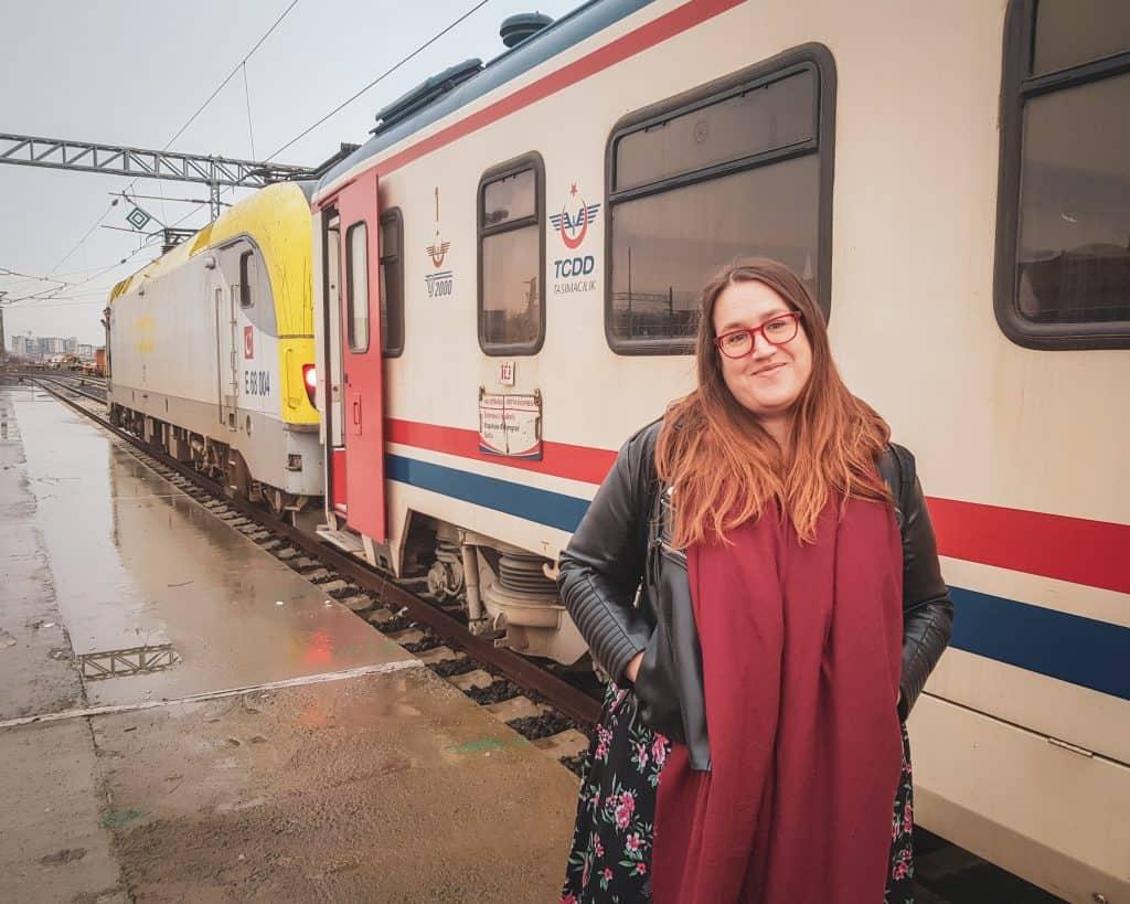 Turkey - Istanbul - Stephanie Train from Sofia to Istanbul
