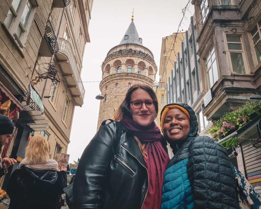 Turkey - Istanbul - Galata Tower Stephanie