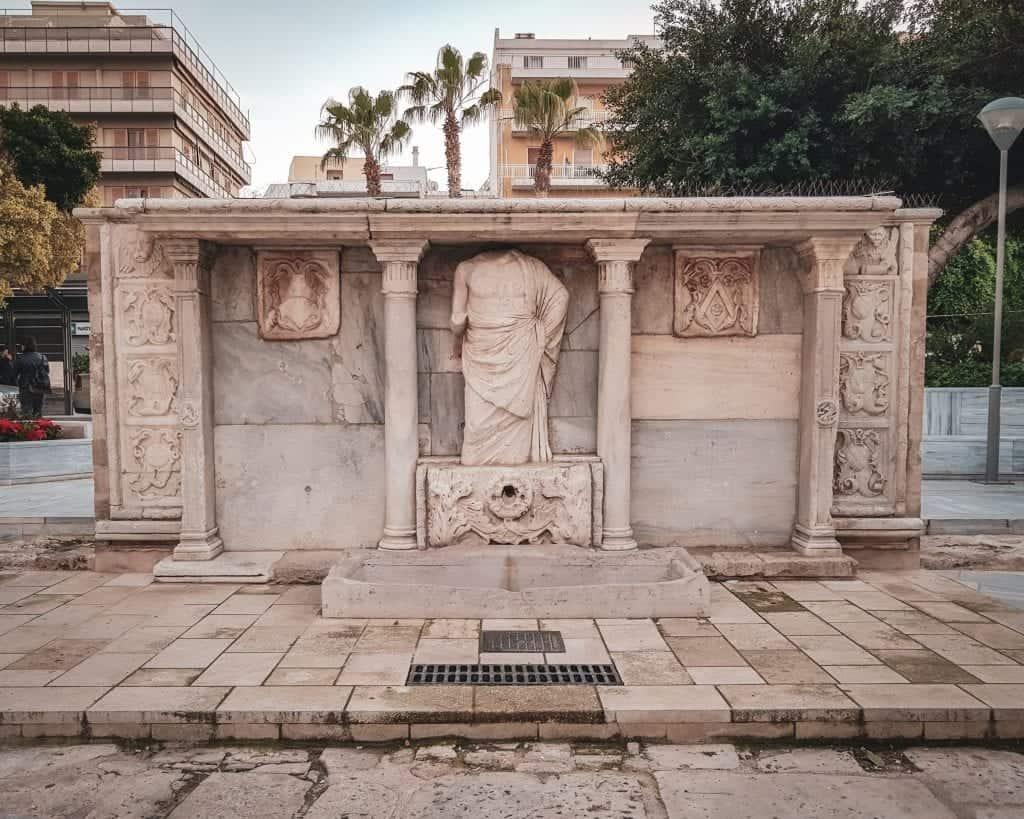 Greece - Crete - Heraklion - Bembo Fountain