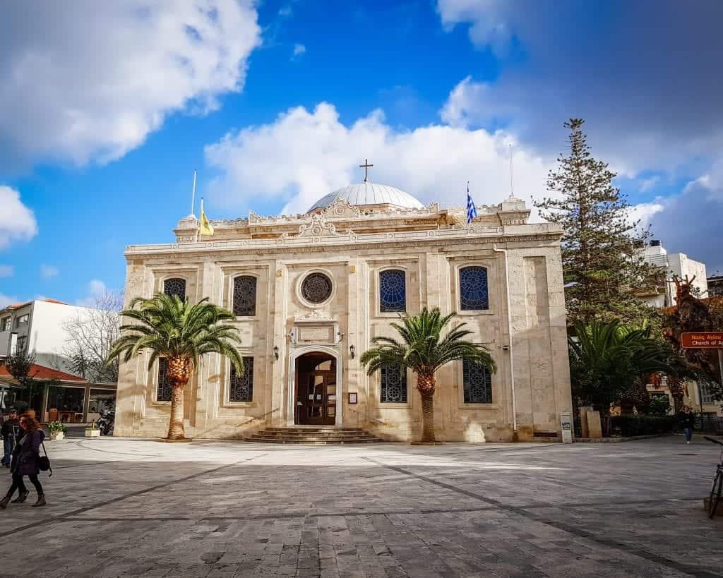 Crete - Heraklion - Agios Titos Church