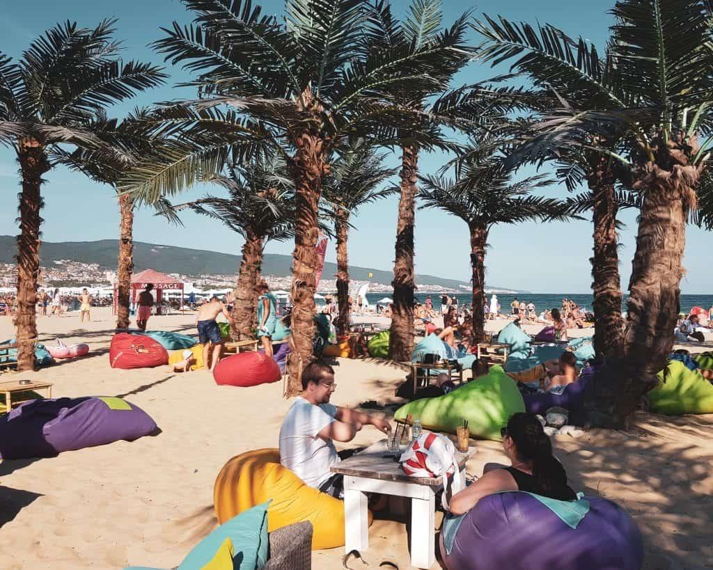 Bulgaria - Sunny Beach - Beach Bar