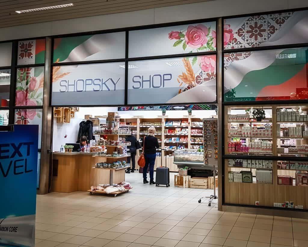 Bulgaria - Sofia - Airport Souvenir Shop