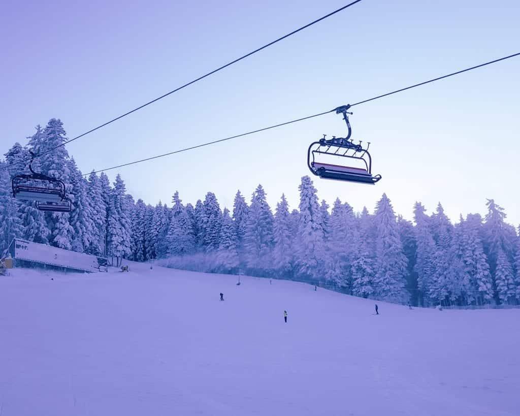 Bulgaria - Borovets - Ski Lift