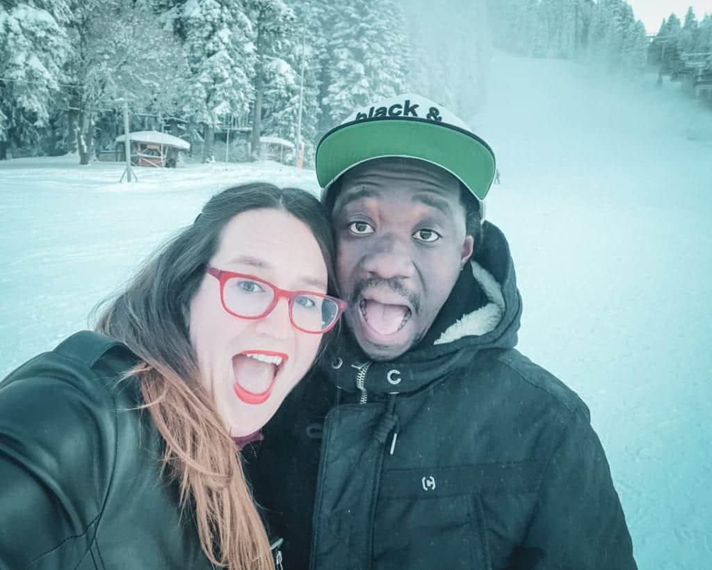 Bulgaria - Borovets - Stephanie Valentine Selfie