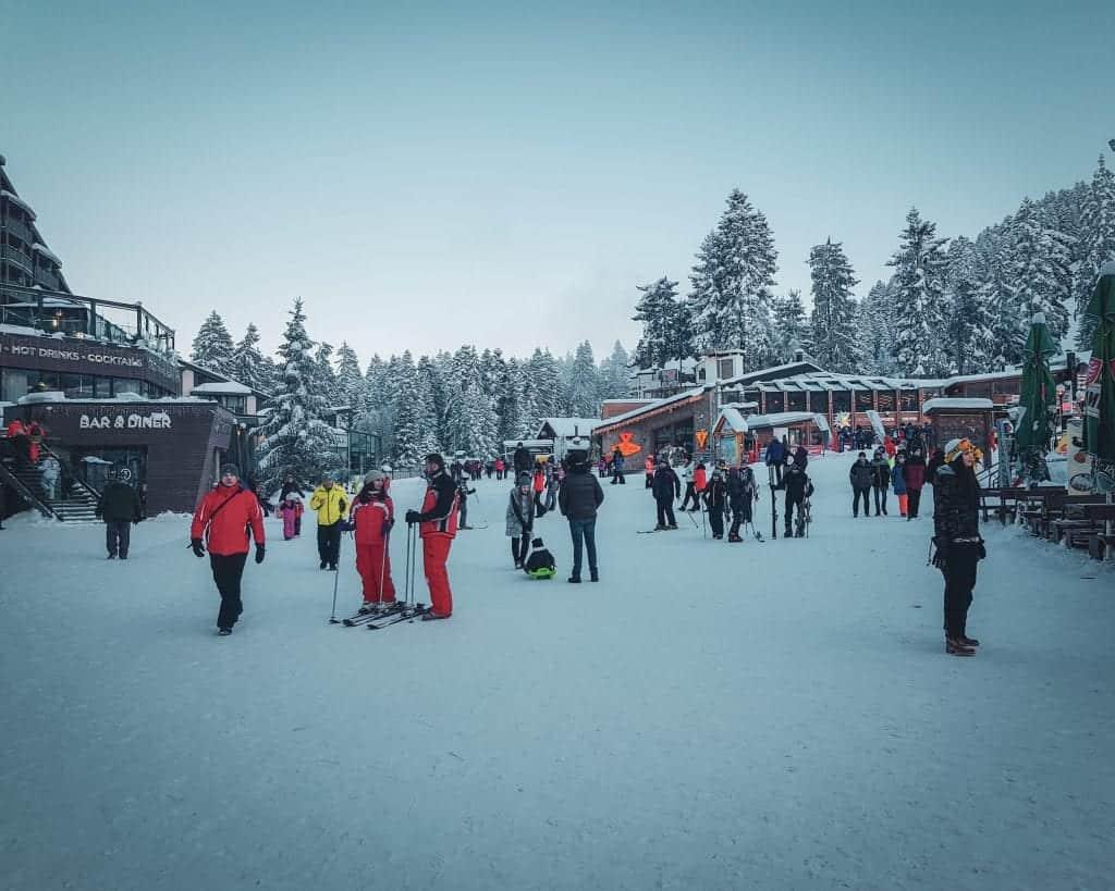 Bulgaria - Borovets - Skiiers