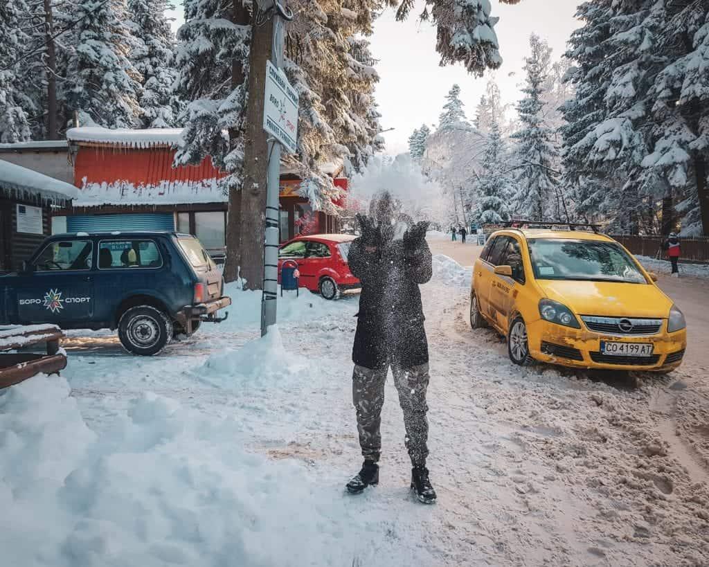 Bulgaria - Borovets - Valentine Snow