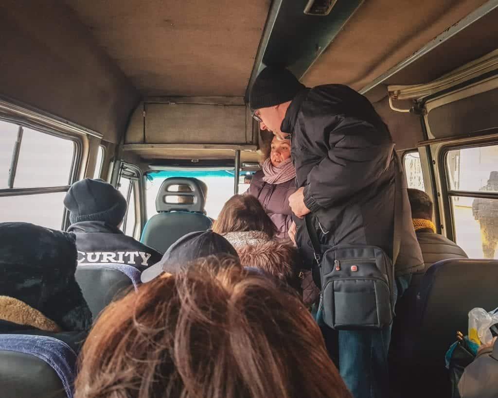 Bulgaria - Pernik - Marshrutka from Pernik to Sofia
