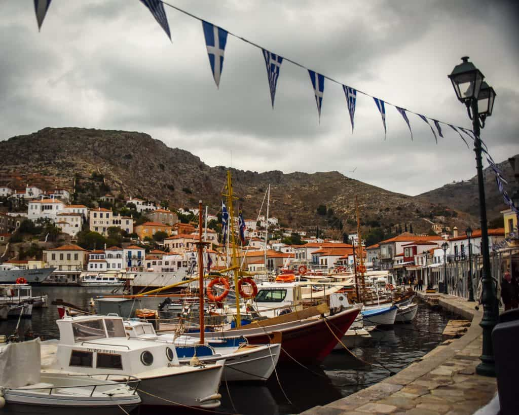Greece - Hydra - Harbor