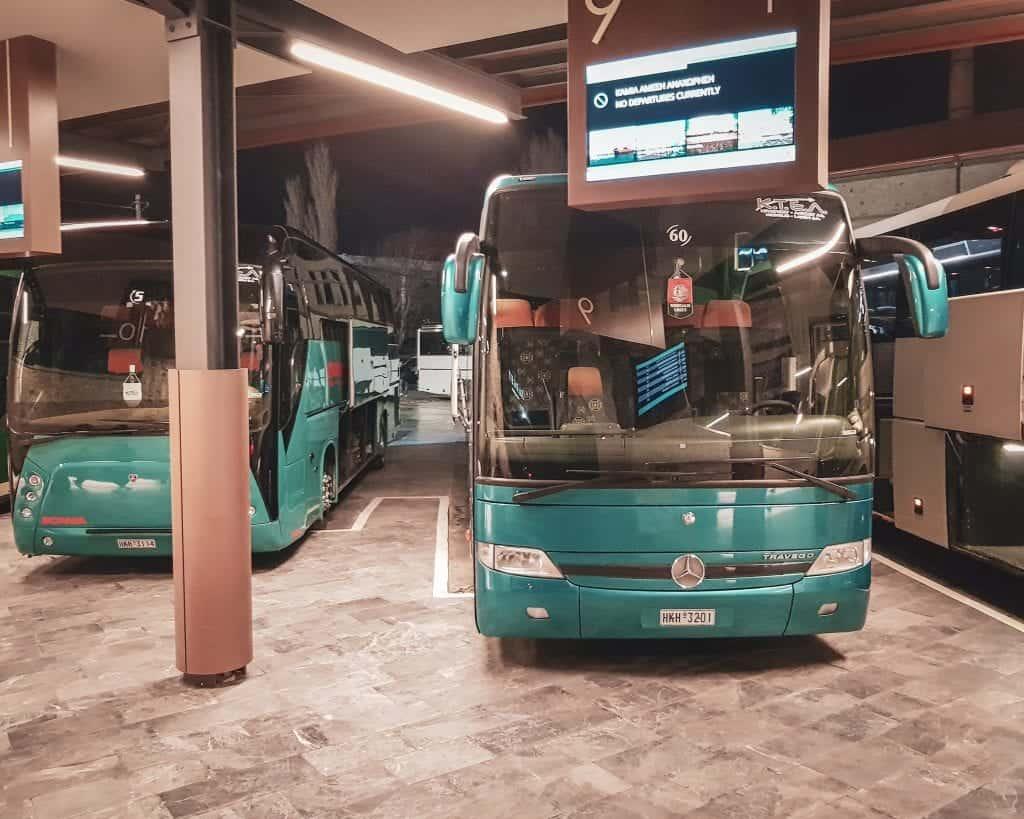Greece - Crete - Heraklion - KTEL Bus Station