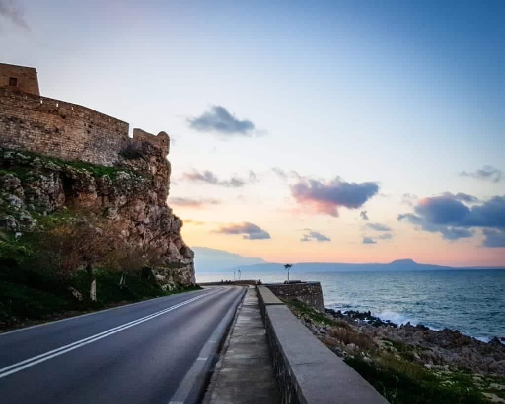 Greece - Crete - Rethymnon - Fortezza of Rethymnon