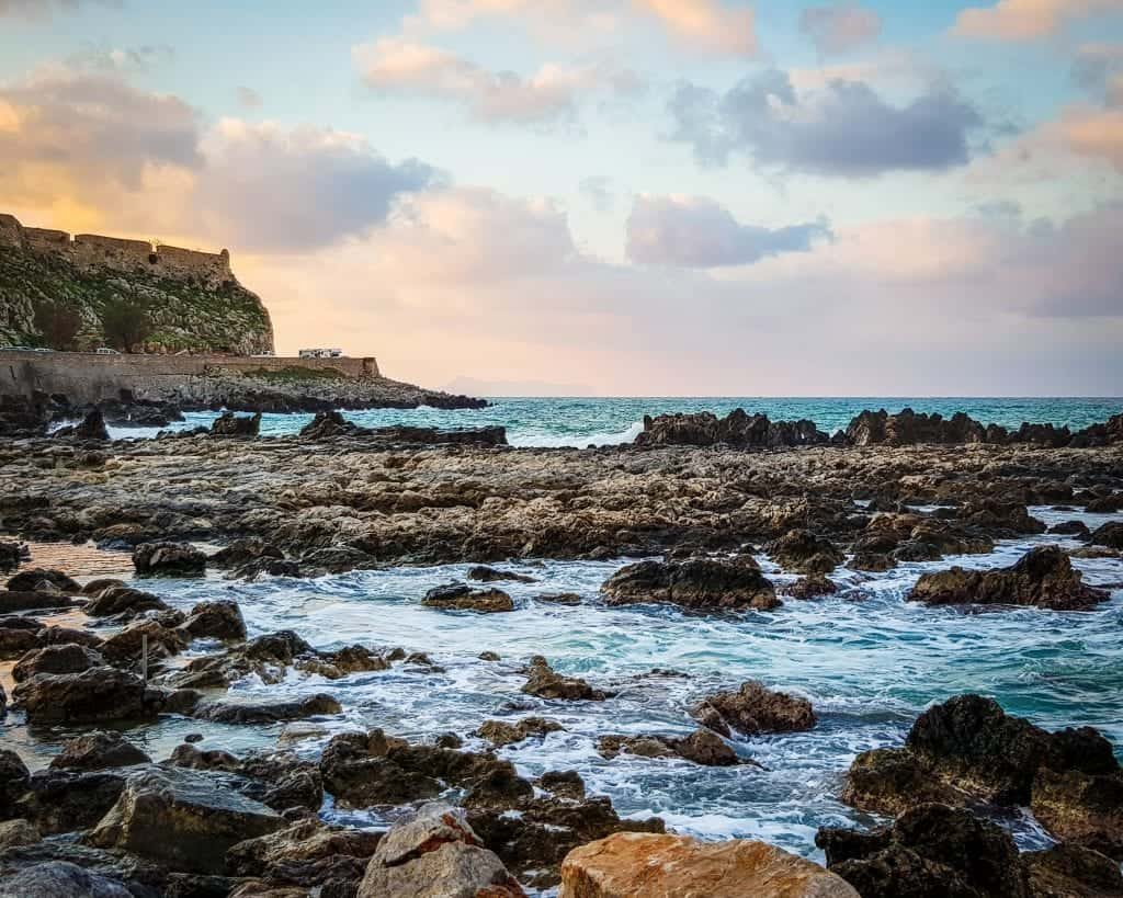 Greece - Crete - Rethymnon - Coast