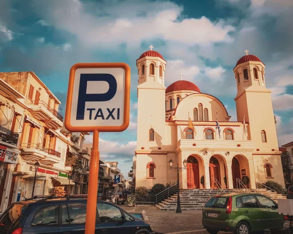 Crete - Rethymnon - Taxi Stand