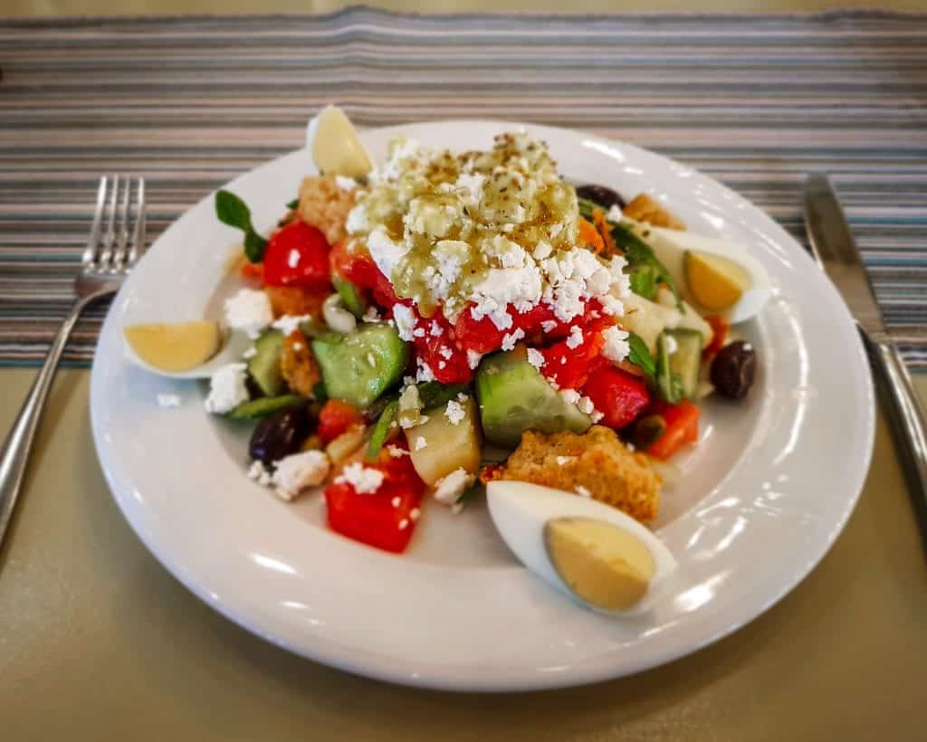 Crete - Rethymnon - Cretan Salad