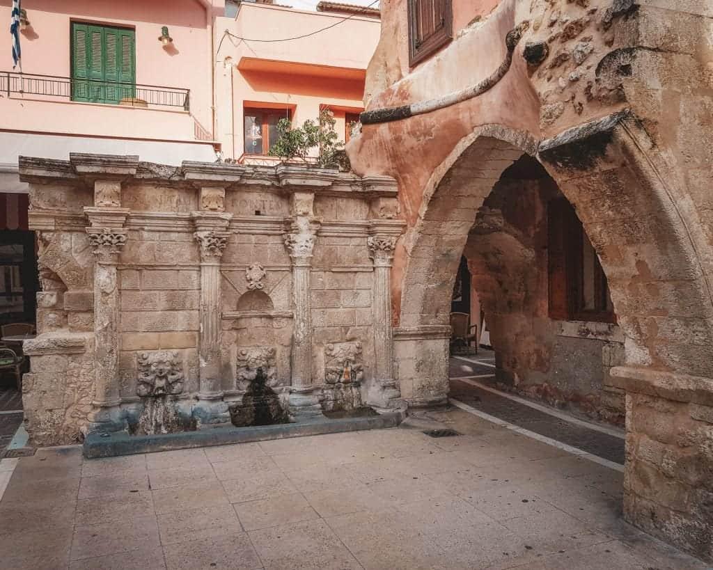 Crete - Rethymnon - Rimondi Fountain