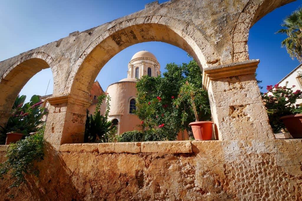 Greece - Crete - Monastery - Pixabay