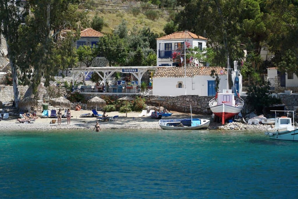 Greece - Hydra - Beach - Pixabay