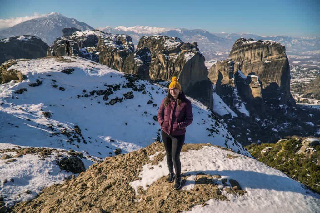 Greece - Meteora - Monastery Winter