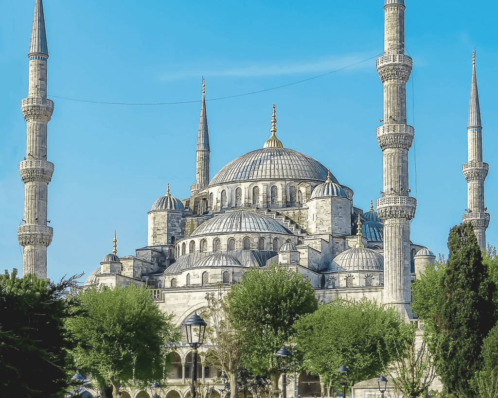 Turkey - Istanbul - Blue Mosque - Canva