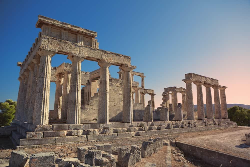 Greece - Aegina - Aphaia Temple - Shutterstock