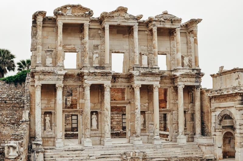 Turkey - Library of Celsus - Collab