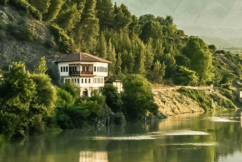 Albania - Berat - Ottoman House on the River