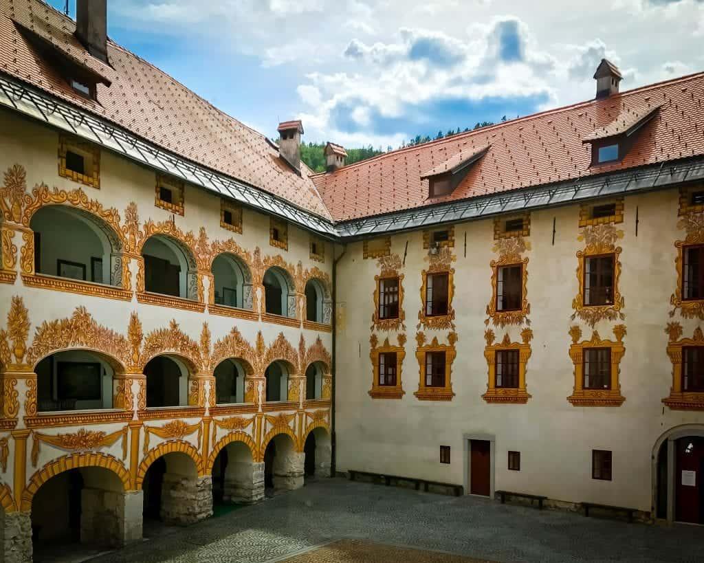 Slovenia - Idrija - Idrija Museum at Gewerkenegg Castle