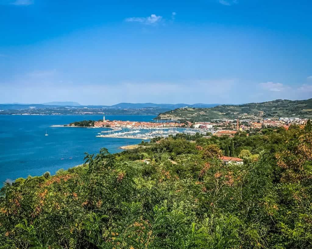 Slovenia - Piran - View of Piran and Coast
