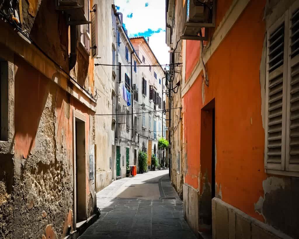 Slovenia - Piran - Streets