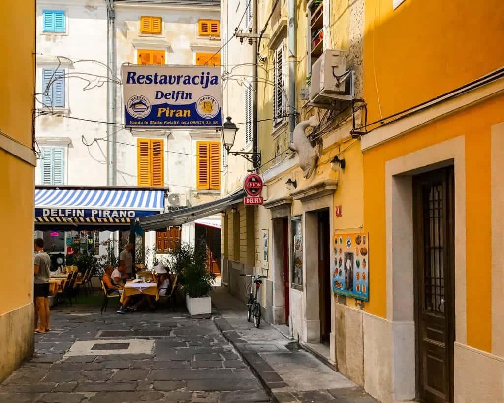 Slovenia - Piran - Restaurant