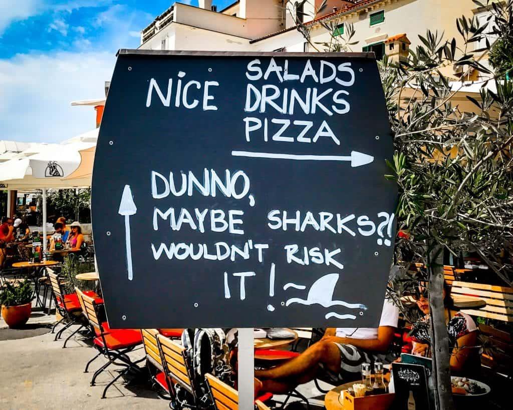 Slovenia - Piran - Funny Sign