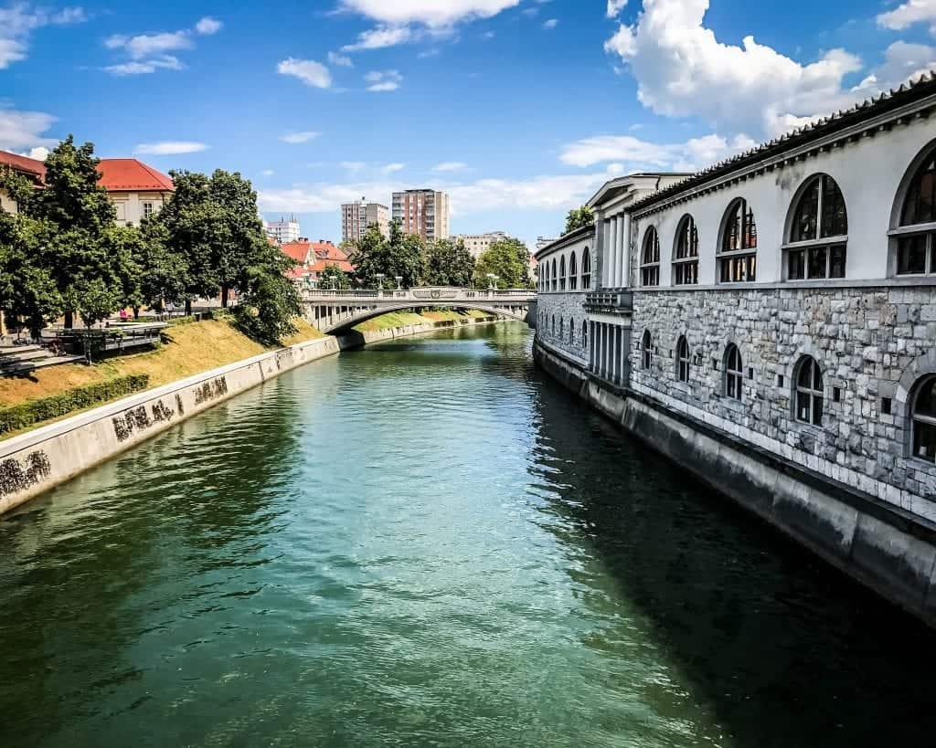 Slovenia - Ljubljana - River