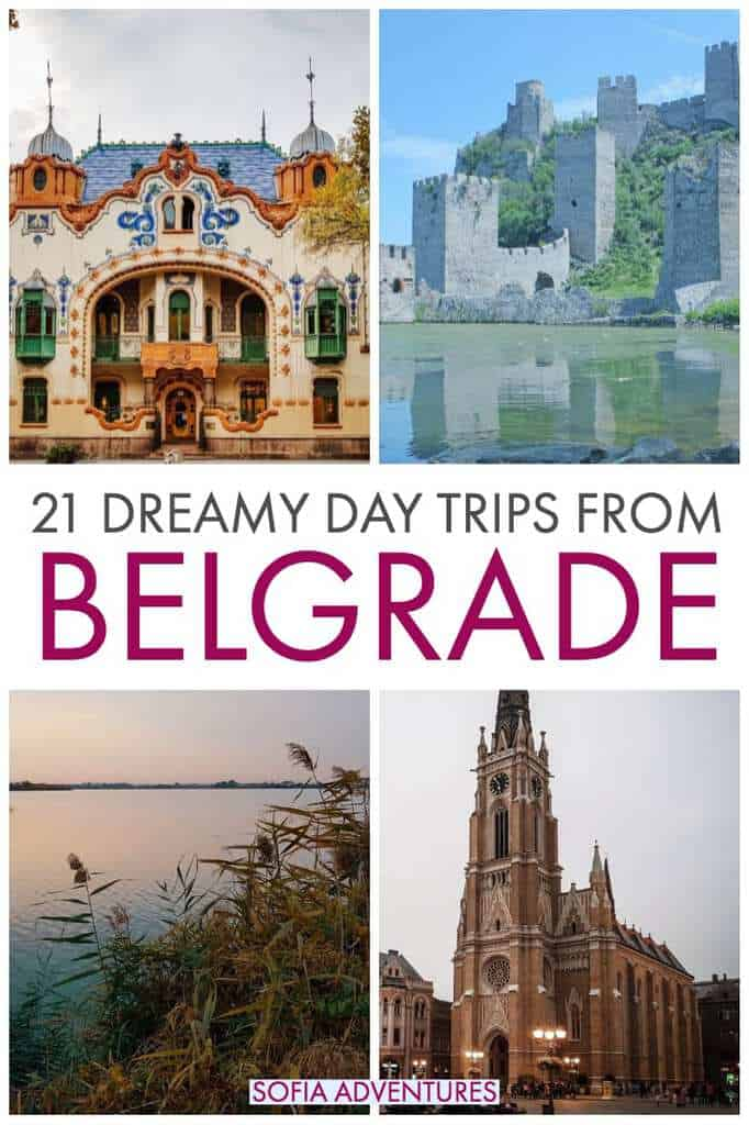 If you're planning to travel to Belgrade, be sure to leave time for some Belgrade day trips! There are several cities, monuments, parks, lakes, monasteries, wineries, and more all within easy driving distance, making them perfect day trips from Belgrade. From better-known cities like Subotica and Novi Sad to under the radar gems like Kragujevac and Nis, this is your Serbia travel bible!