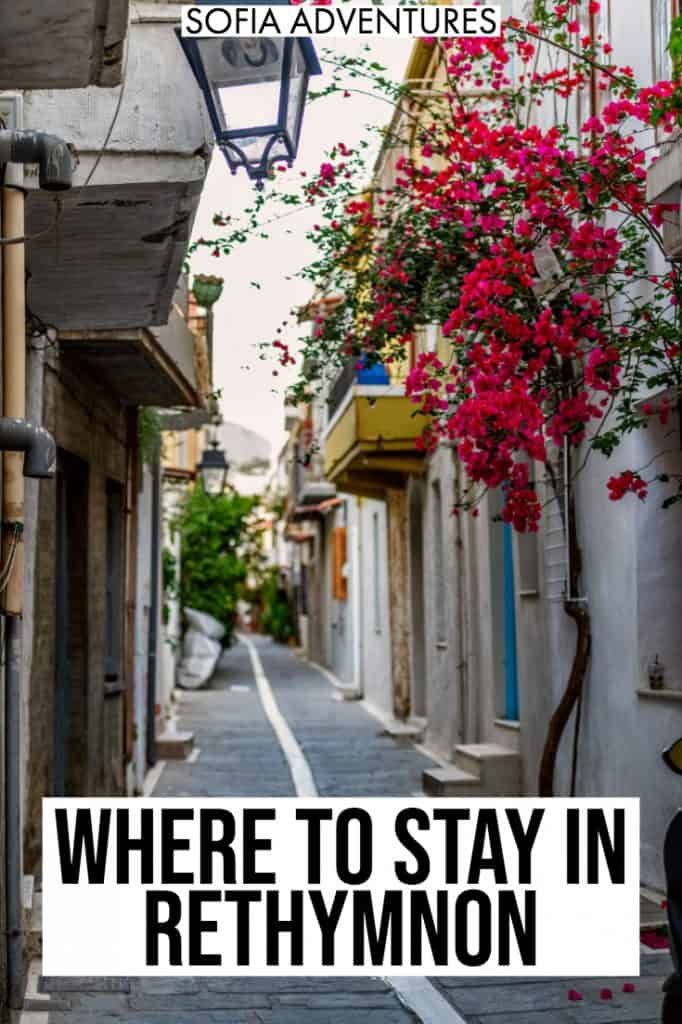 Wondering where to stay in Rethymnon? Whether you stay in Old Town, near the Venetian harbor, or by the beach, here are the best places to stay in Rethymnon, Crete [also written Rethymno and Rethimnon]
