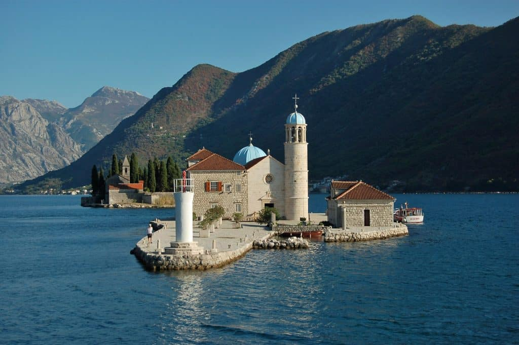 Montenegro - Perast - Our Lady of the Rocks - Pixabay