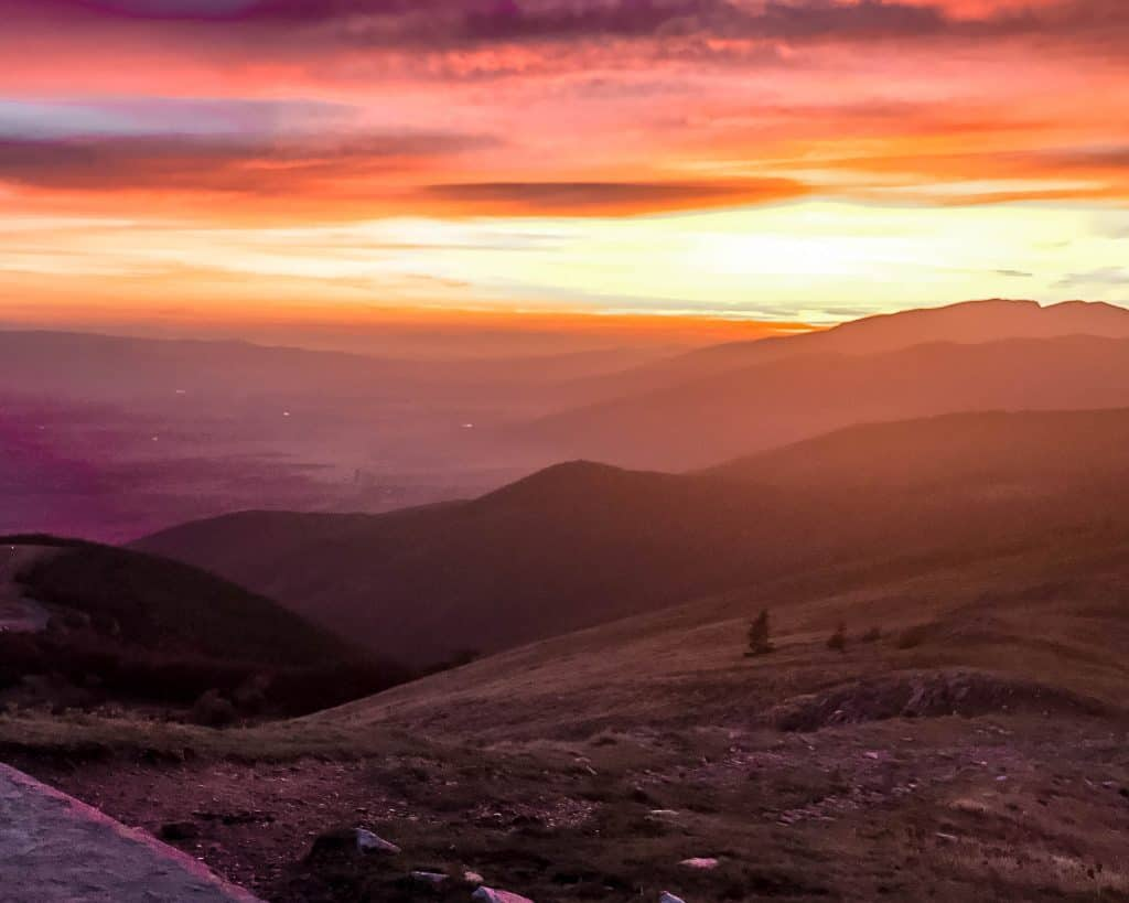 Bulgaria - Buzludzha at Sunset - Khadzhi Dimitur
