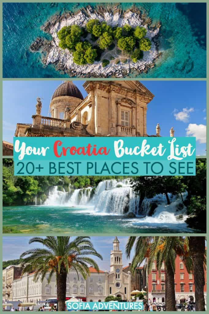 Planning an epic Croatia tip? This guide to where to go in Croatia will help you plan all the best places to visit in Croatia. Full of Croatia destination ideas to pack your Croatia itinerary full of islands, culture, art, food, and more!