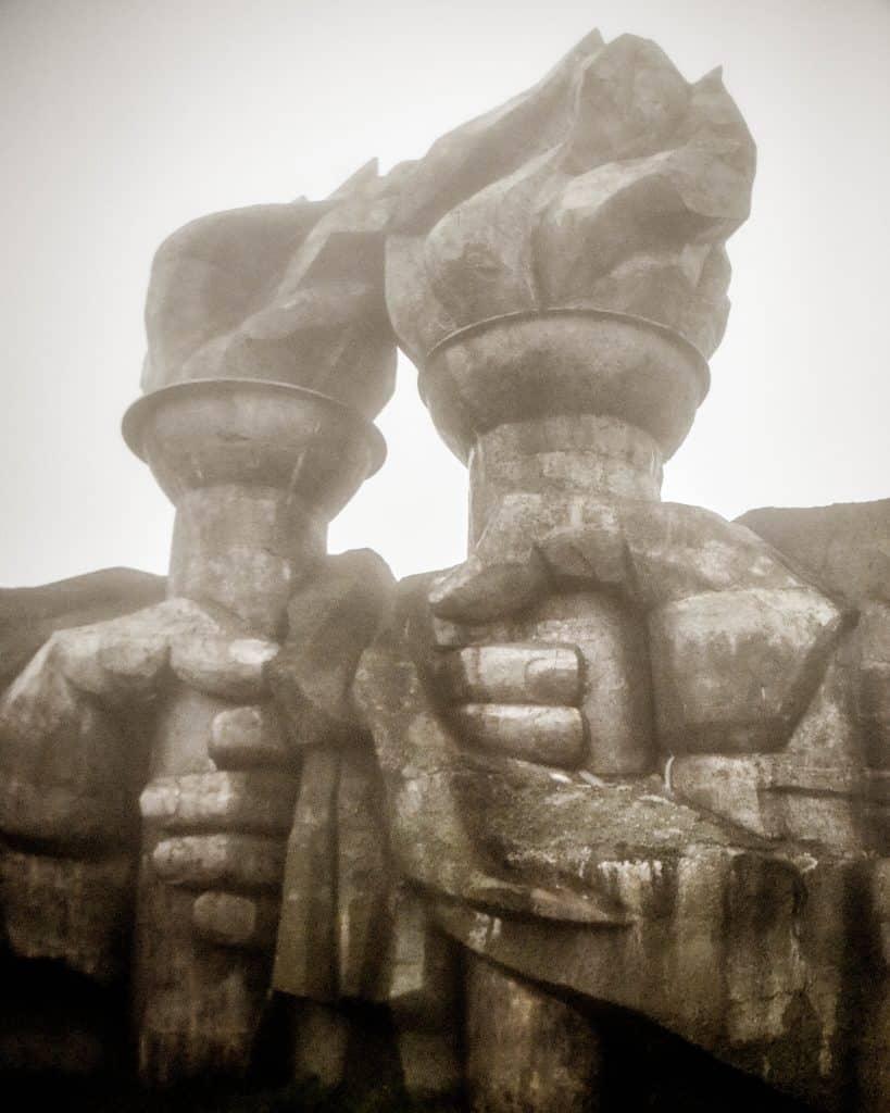 Bulgaria - Buzludzha Hands - Khadzhi Dimitur
