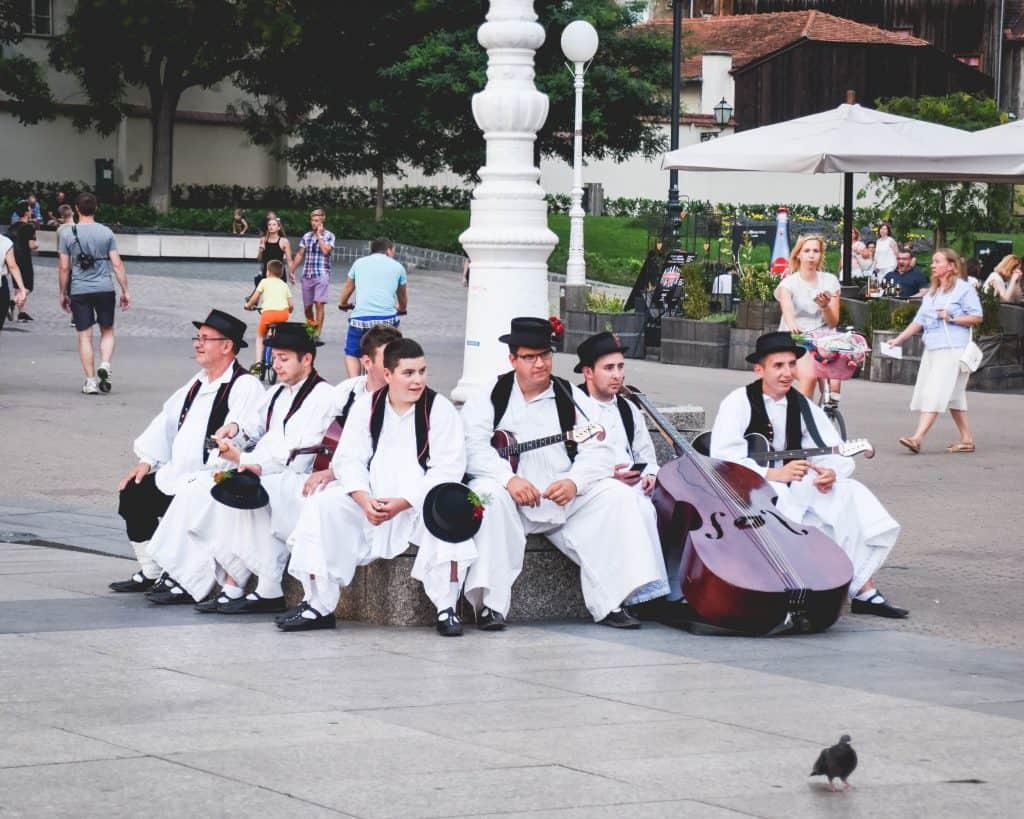 Croatia - Zagreb - Folk Musicians