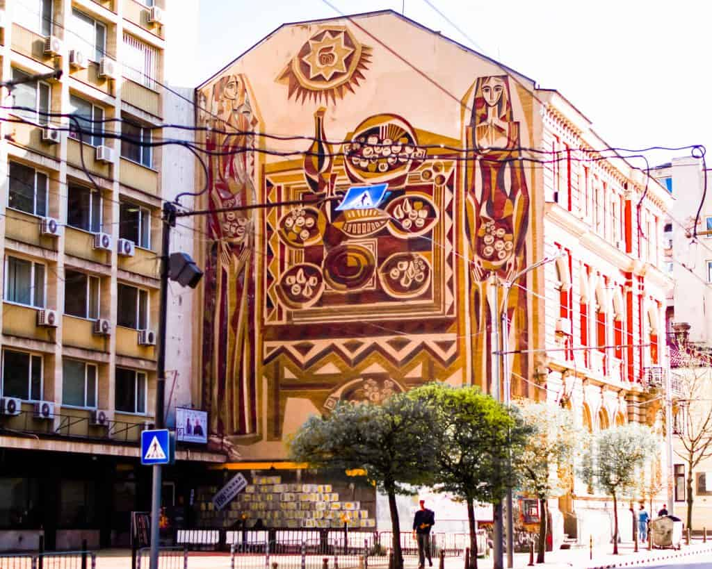 Bulgaria - Sofia - Street Art