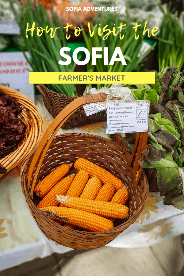 How to Visit the Sofia Farmer's Market