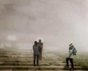 Bulgaria - Buzludzha - Buzludzha in Fog