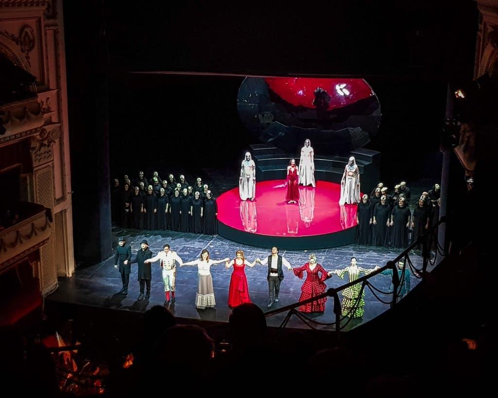 Bulgaria - Sofia - Sofia Opera House Carmen Curtain Call