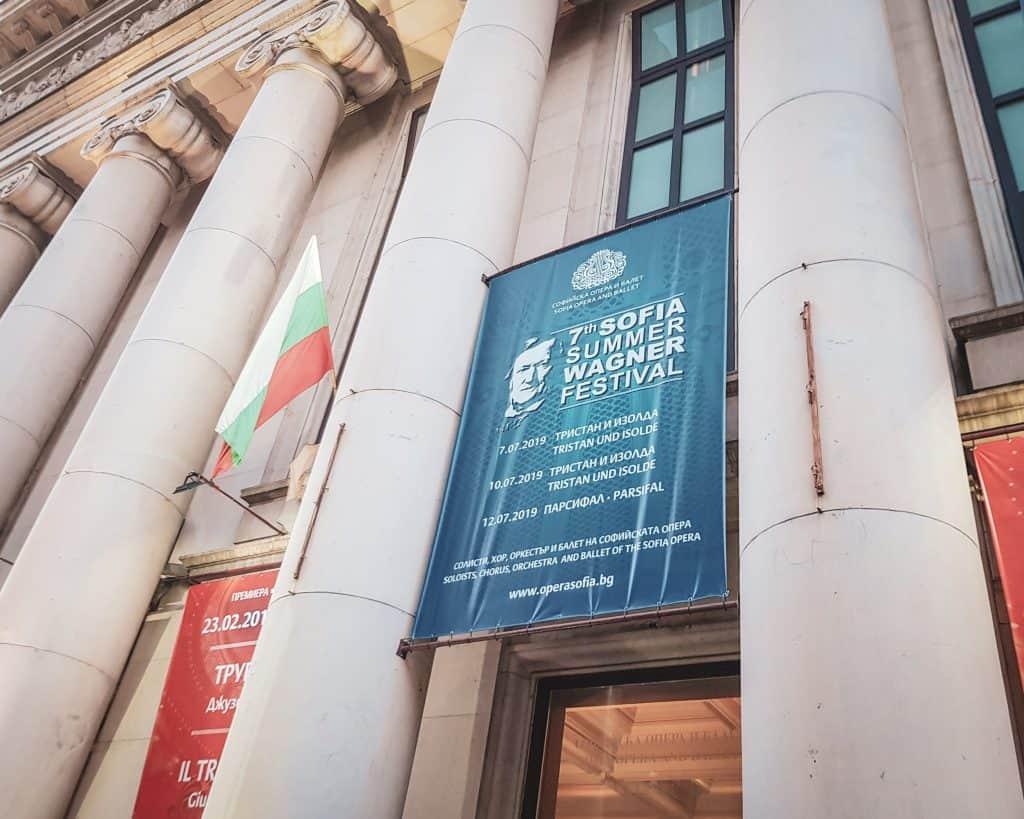 Bulgaria - Sofia - Sofia Opera House