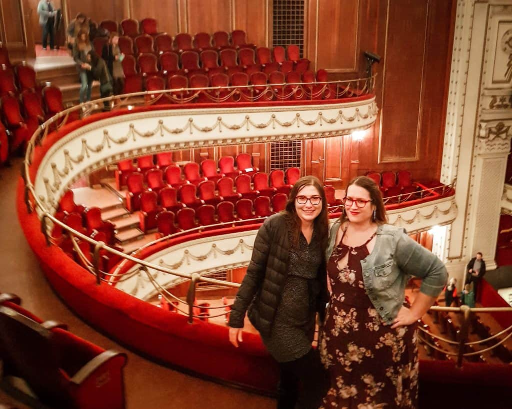 Bulgaria - Sofia - Sofia Opera Stephanie and Allison