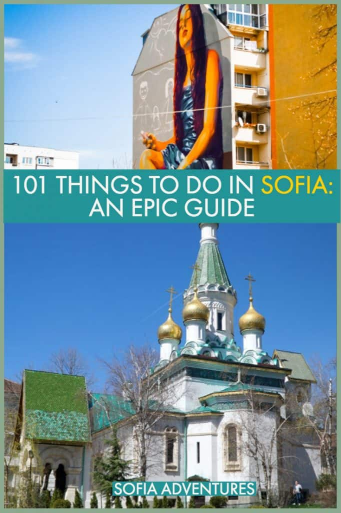 Planning your Sofia itinerary? Here are all the best things to do in Sofia, Bulgaria. Our favorite Sofia attractions, Sofia travel destinations, restaurants, bars, and street art!