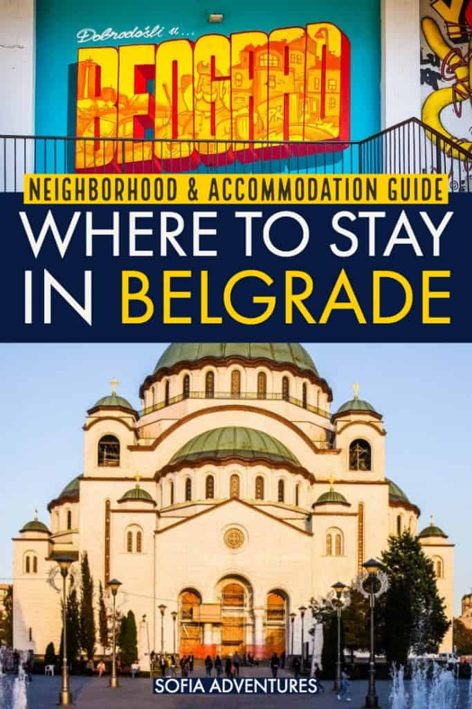 Planning a trip to Belgrade, Serbia? This guide to Belgrade accommodations will help you pick the best place to stay in Belgrade. Complete information on 7 fantastic Belgrade neighborhoods: Dorcol, Palilula, Stari Grad, Novi Beograd, Zemun, Savamala, Vracar plus recommendations on Belgrade hotels and Belgrade hostels in each neighborhood. This is your ultimate Belgrade city guide!