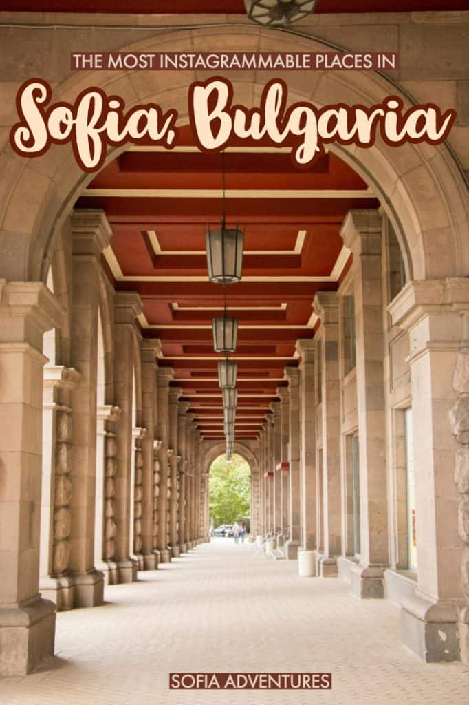 Want to know the most Instagrammable things to do in Sofia? Here's our guide to the best Sofia photography locations, with Sofia travel tips as well. Check out these Sofia pictures to get inspired for the best Instagram spots in Sofia!